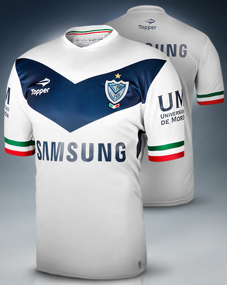 1fb5738a74 Topper divulga novas camisas do Vélez Sarsfield - Show de Camisas