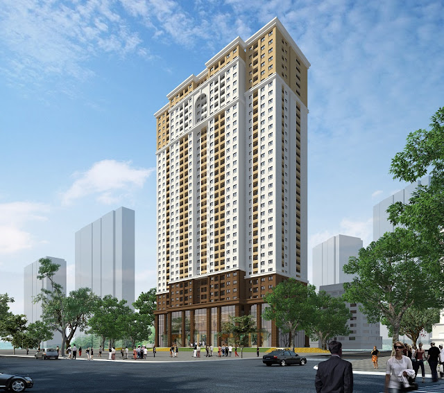 Phối cảnh dự án chung cư Eco Dream City Nguyễn Xiển