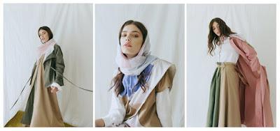 Inspirasi Model Baju Lebaran Maxi Skirt