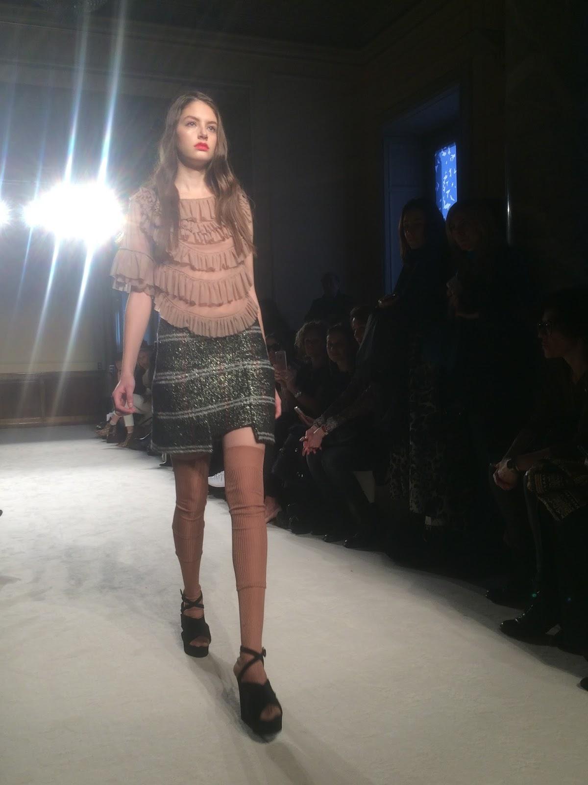 cheap for discount 47f80 0337b A dream called fashion : MFW day 1: Kristina Ti fashion show