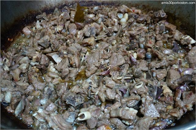 Elaboración de la Receta Tradicional del Choto al Ajillo