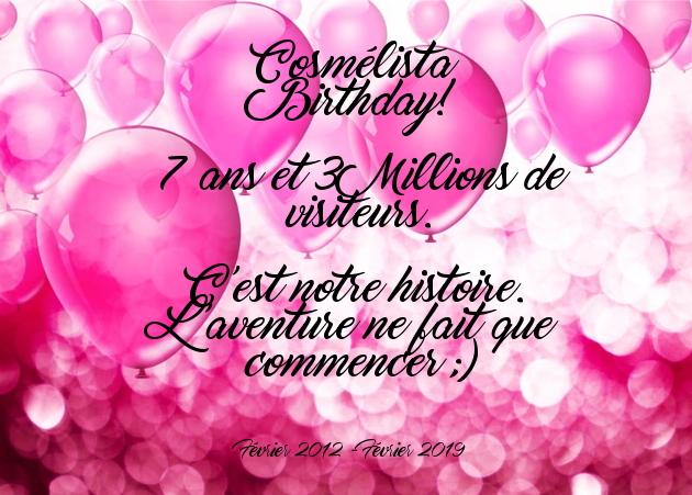 3 Millions de visiteurs le jour de l'anniversaire du blog.Merci