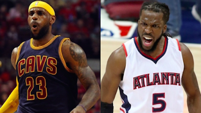 NBA : Hawks, Cavaliers go Head-to-Head in Cleveland