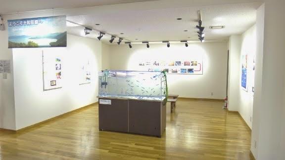 Himemasu Exhibit Lake Towada Tourist Center Puratto 十和田市十和田湖観光交流センターぷらっと 十和田湖ひめます展示