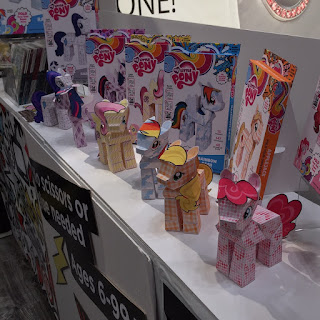 Paper Punk Shows MLP Papercraft at NY Toy Fair