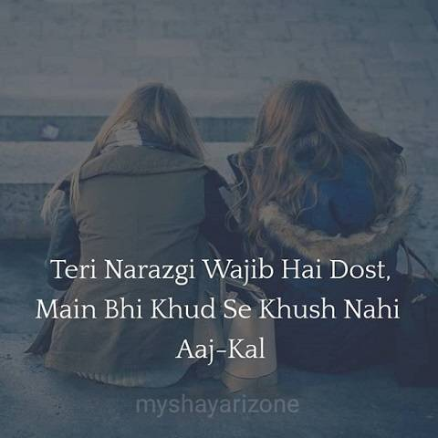 Teri Narazgi Sad Lines Whatsapp Status Shayari SMS Pic in Hindi