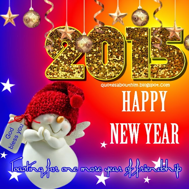 Happy New Year 2015 e-card