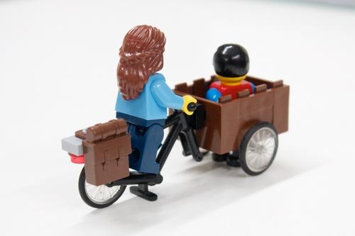 3 Juegos Para Que Los Niños Disfruten De La Bicicleta: Aventurasenunabiciplegable: Bicicletas Y Lego