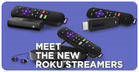 New 2018 Roku media streamers 2016