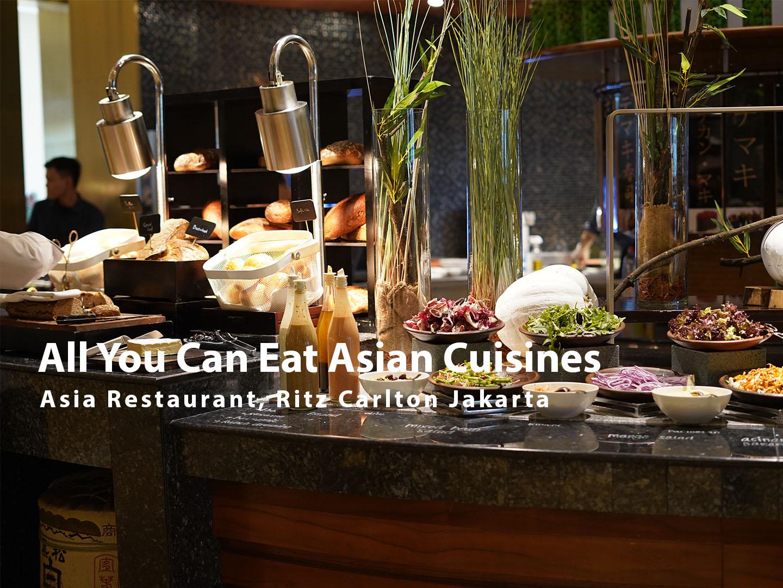 Asia Restaurant Ritz Carlton Kuningan Jakarta