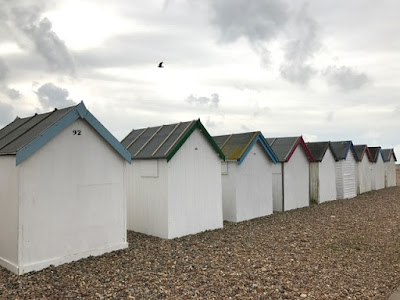 February walk along Goring Beach, West Sussex