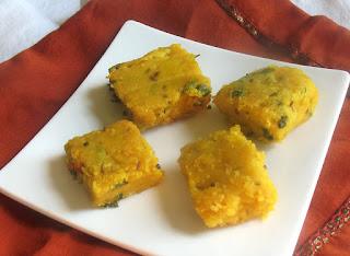 Coriander and Chickpea Flour Fritters (Kothimbir Vadi)