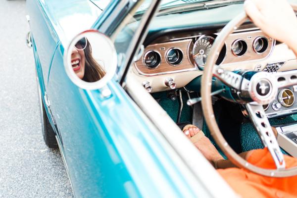 Vintage Car - Charleston SC | Chasing Cinderella