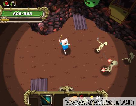 RPG em 3D de Hora de Aventura