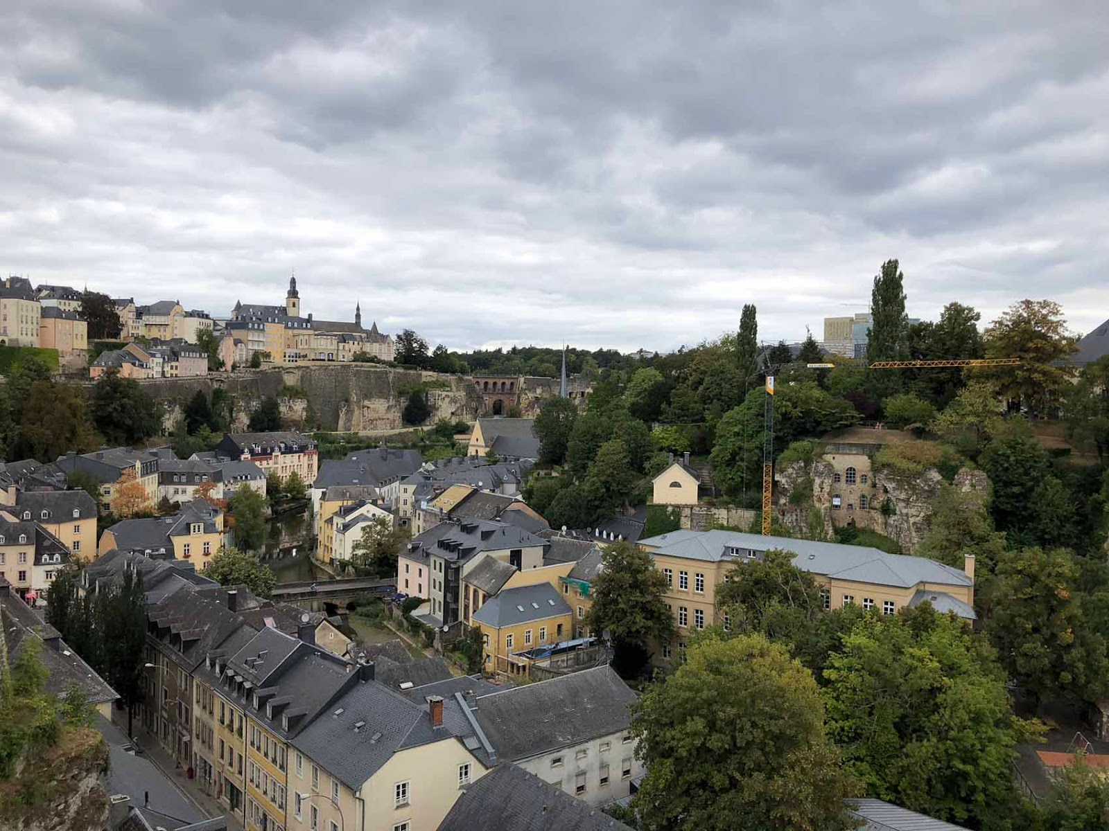 Luxemburg city Luxembourg
