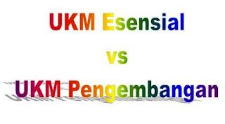 UKM Esensial vs UKM Pengembangan