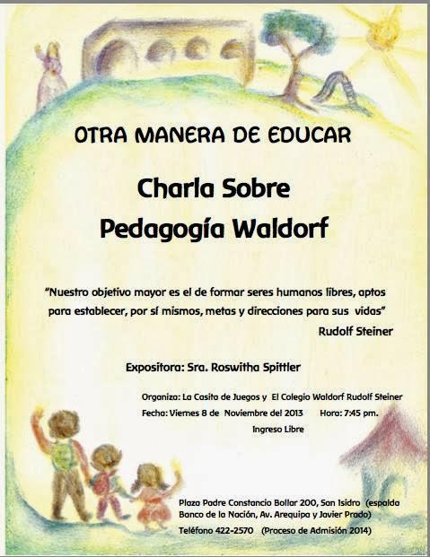 Difusion Steiner Otros Eventos Waldorf Viernes 8 De Noviembre
