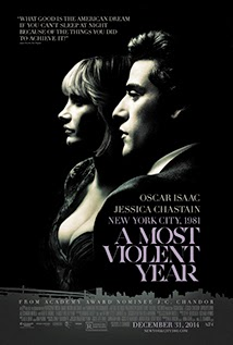 amost violent year movie poster