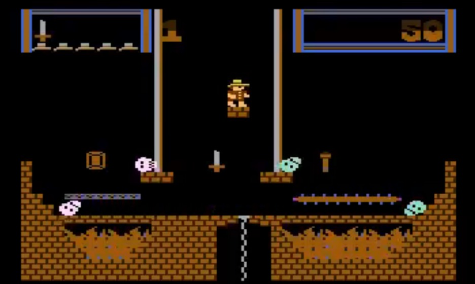 Indie Retro News: Montezuma's Revenge - 1980's Atari 8-bit