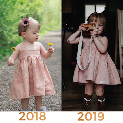 Last year's dress is this year's tunic! High Quality, Handcrafted clothing designed to grow with your girl! www.daydreambelieversdesigns.com