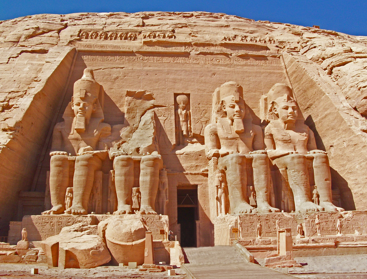 ramses temple height
