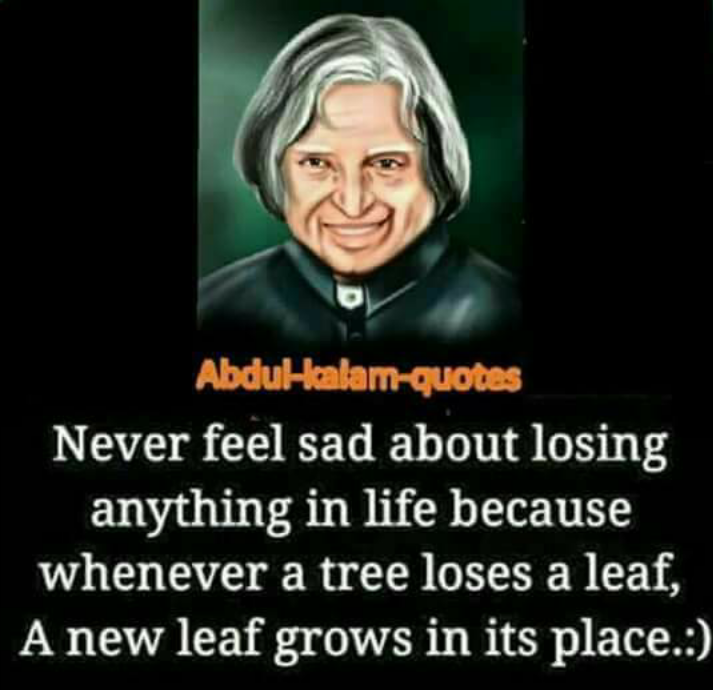 Positive Quotes By Abdul Kalam
