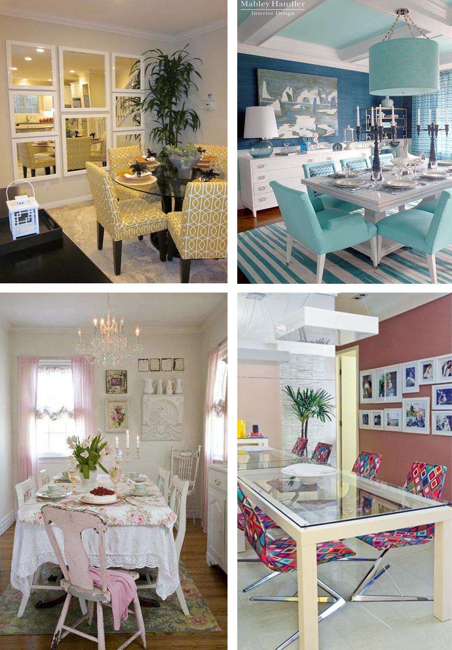 decoração sala colorida e moderna