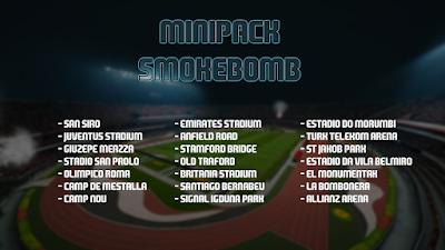 PES 2016 - Minipack Smokebomb