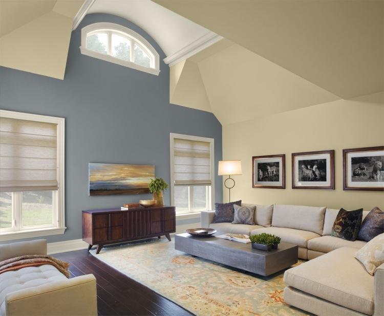 Peinture salon chambre et cuisine quelles couleurs pour - Exemple de peinture de chambre ...
