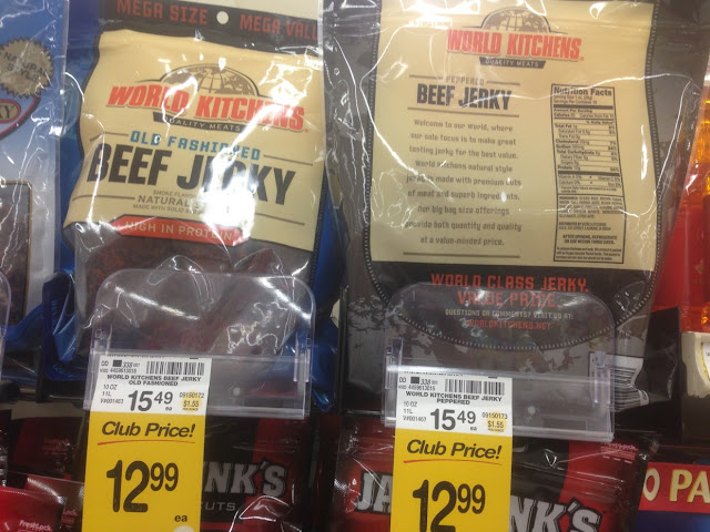 Beef Jerky, 10 oz, World Kitchens - Safeway