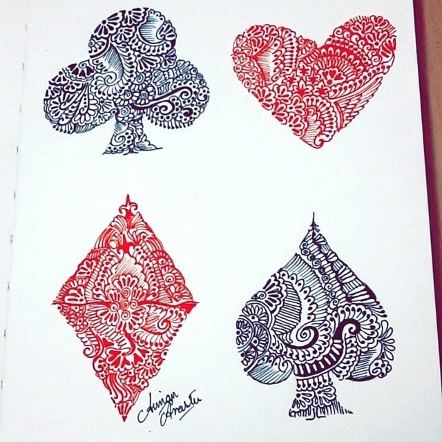 06-4-Cards-Suits-Aiman-Arastu-Mandalas-Drawings-and-More-Art-www-designstack-co