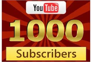 Cara Cepat Dapatkan 1000 Subscriber dan 4000 Jam Tayang