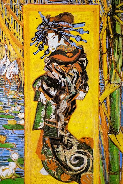 Vincent Van Gogh, Oiran - Van Gogh Museum, Amsterdam por El Guisante Verde Project
