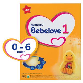 Harga Bebelove 1 kemasan Box 1800 gram Susu Bayi Usia 0-6 bulan