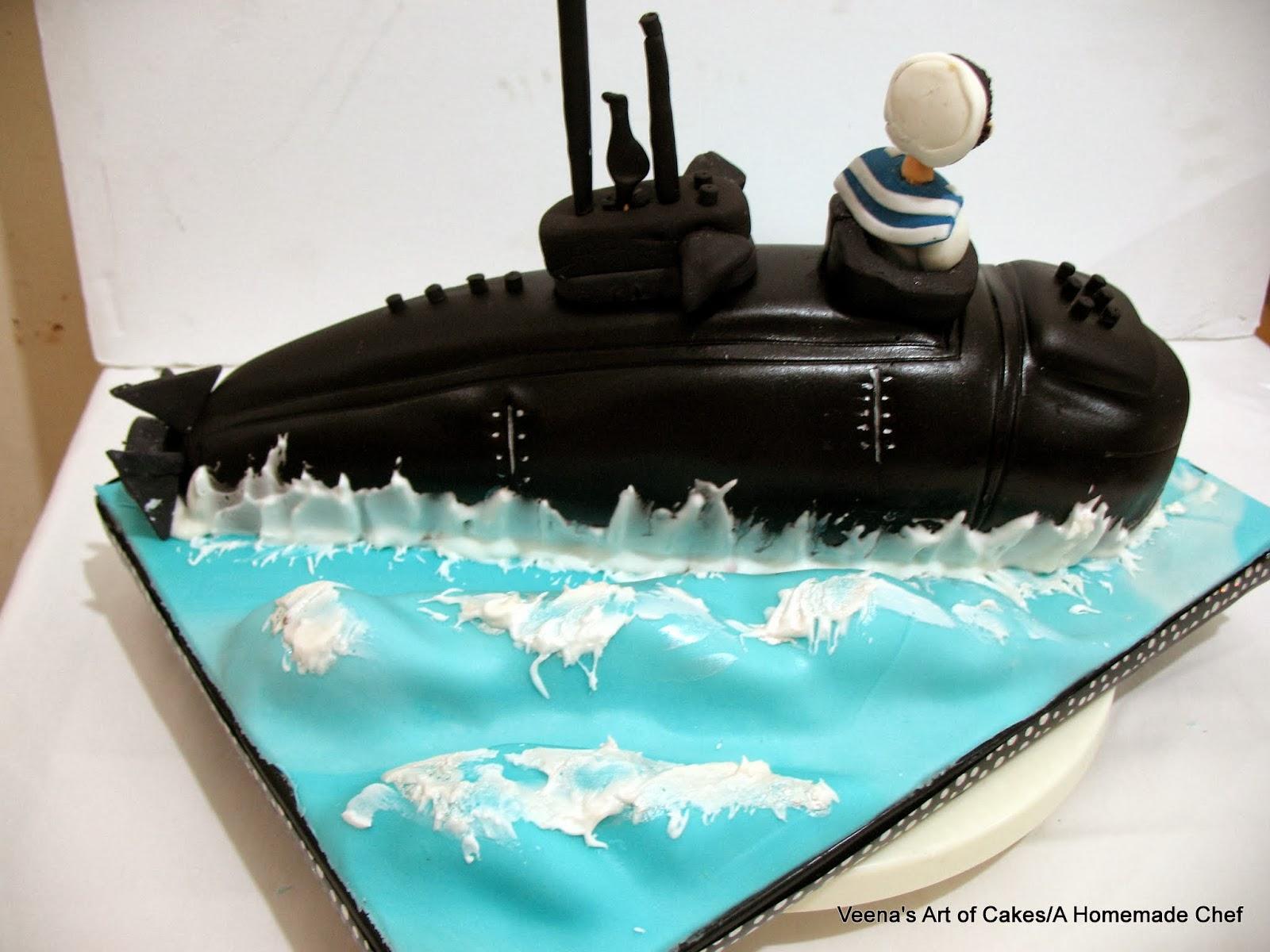 Submarine Cake Veena Azmanov