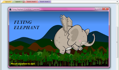 flying elephant game construct 2