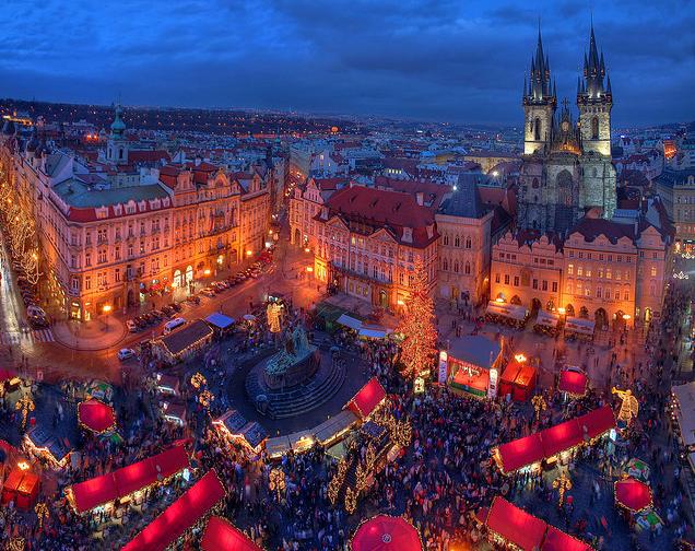 Una noche en Praga