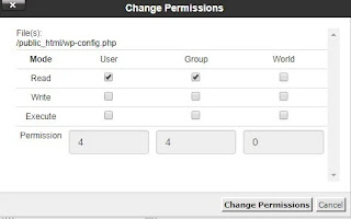 Mengubah permissions