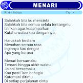 Lirik Lagu Menari oleh Risky Febian - Official dunialirik.NET