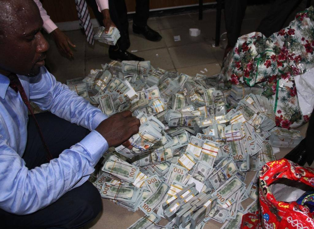 money stash efcc ikoyi lagos