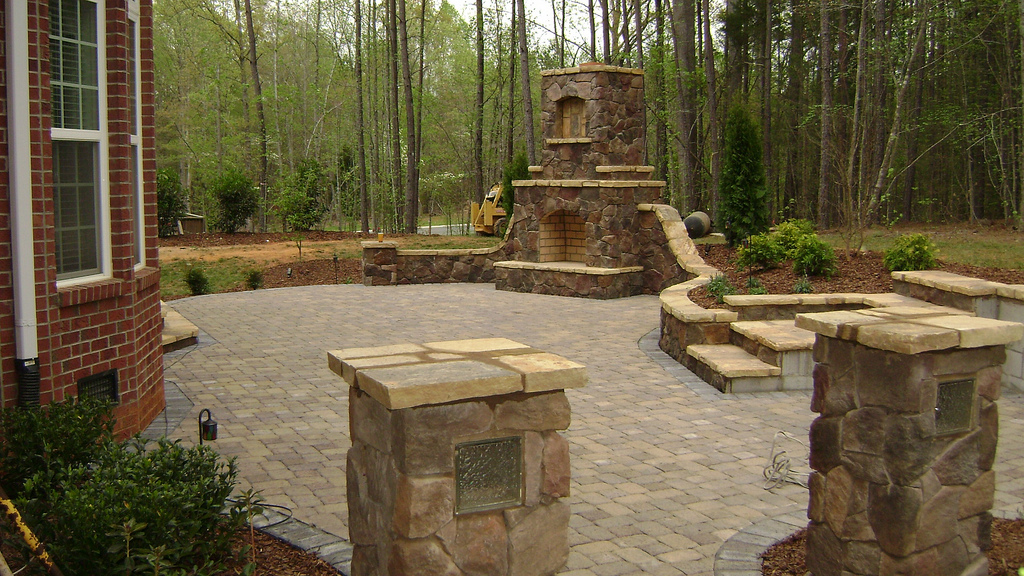 Outdoor fireplace design build your own outdoor fireplace - Build your own outdoor fireplace ...