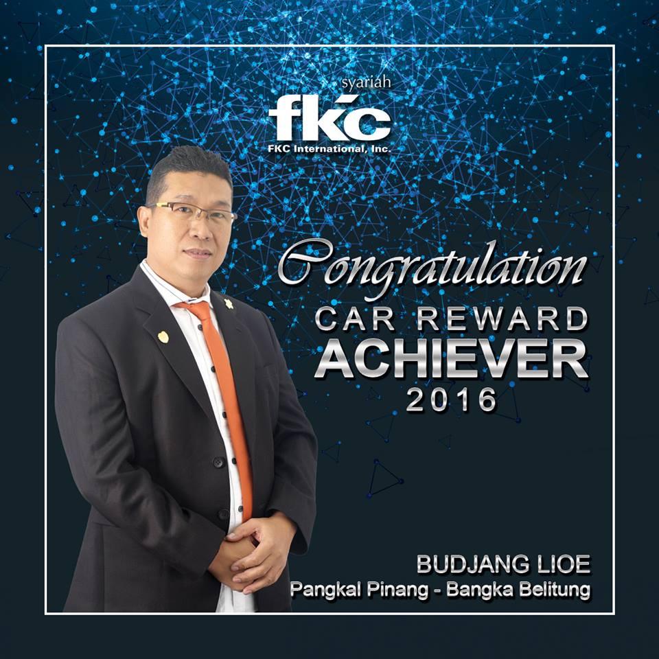 Bisnis Fkc Syariah - Reward Budjang Lioe