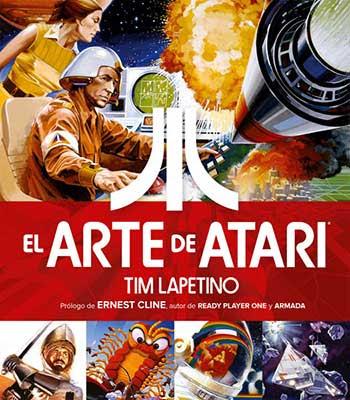 EL ARTE DE ATARI es la primera recopilación oficial de arte original creado para los videojuegos