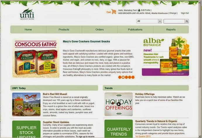 UNFI Supplier Community News: 2013
