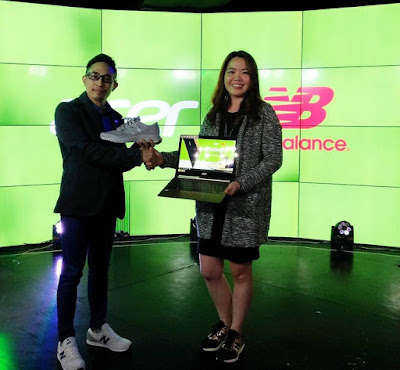 Get Php5000 New Balance GC with Every Purchase Acer Laptops