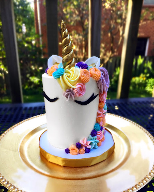 elle dee unicorn cake pretty