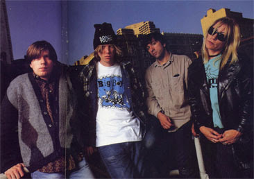 SONIC YOUTH - INTERVIEW 1994 - HARD'N HEAVY MAGAZINE