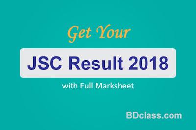 JSC Exam Result 2018 with Marksheet