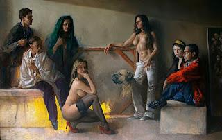 Dario Ortiz, artista realista colombiano