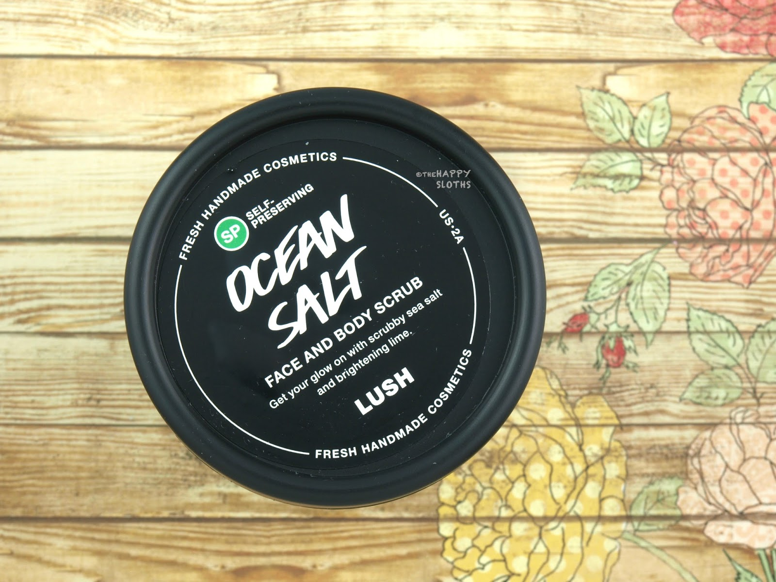 "Lush ""Self-Preserving"" Ocean Salt Face and Body Scrub: Review"